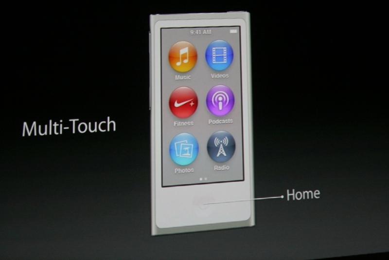 De iPod nano krijgt een groter display, dat nu ook met multitouch-gestures kan worden bediend.