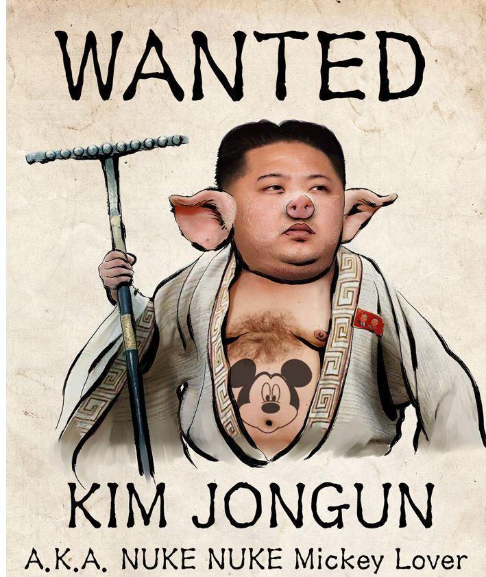 Een door Anonymous gehackte website uit Noord-Korea
