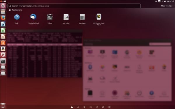 Ubuntu 14.04 LTS screenshot