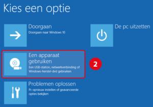 windows-apparaat-gebruiken