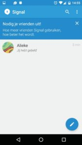 bellen chat app Signal