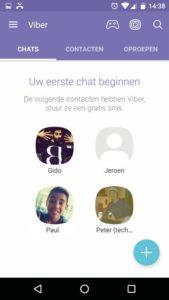 bellen chat app Viber
