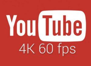 YouTube-instellingen: 4K