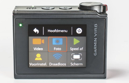 actioncam action cam interface