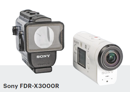 actioncam Sony FDR-X3000R action cam