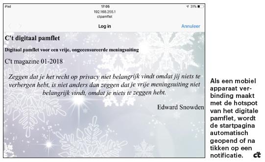 vrije meningsuiting digitaal verspreiden anoniem pamflet
