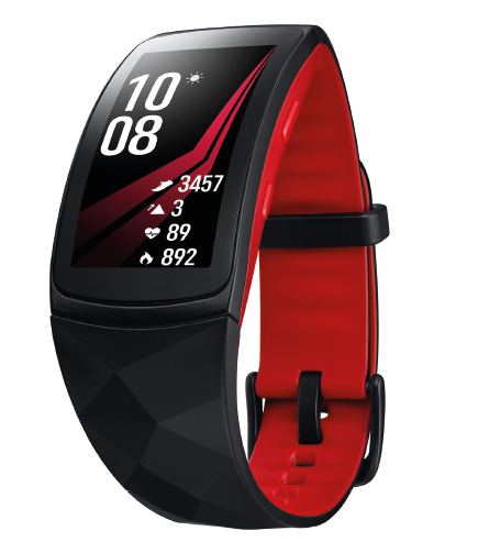 Samsung Gear Fit 2 Pro test review zwemmen.