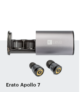 bluetooth oordopjes in-ear Erato Apollo 7