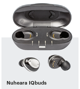 bluetooth oordopjes in-ear Nuheara IQbuds