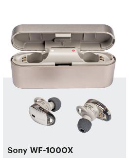 bluetooth oordopjes in-ear Sony WF-1000X