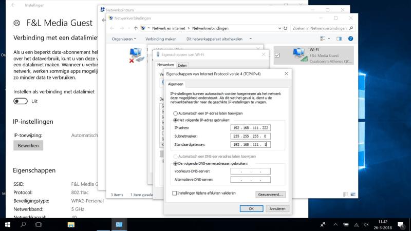 Netwerkverbinding in Windows 10: staat DHCP nu aan of uit? De instellingsdialogen van Windows zijn het niet altijd met elkaar eens.