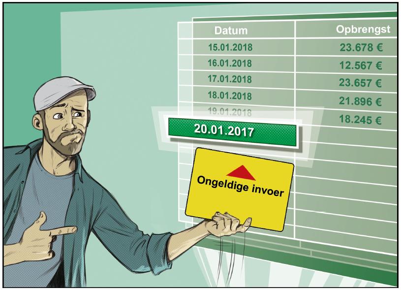 Excel doelzoeken gegevensvalidatie fout opsporen voorkomen waarde zoeken