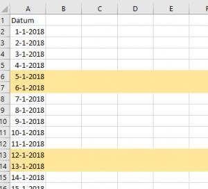 cellen opmaken automatisch Excel opmaak voorwaardelijke opmaak