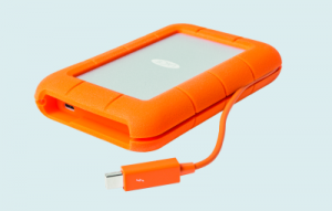 LaCie Rugged Thunderbolt USB-C externe ssd usb-ssd externe schijf