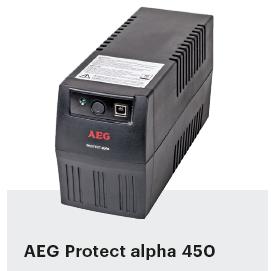 noodstroom voor pc UPS AEG Protect alpha 450
