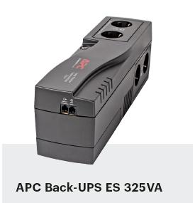 noodstroom voor pc UPS APC Back-UPS ES 325VA