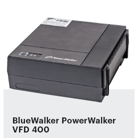 noodstroom voor pc UPS BlueWalker PowerWalker VFD 400