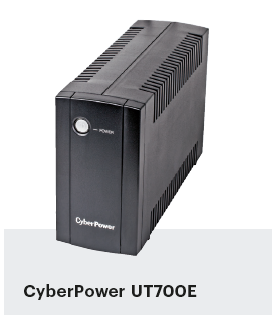noodstroom voor pc UPS CyberPower UT700E