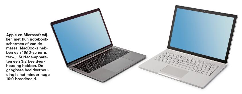 notebook kopen koopadvies laptop kiezen scherm beeld verhouding