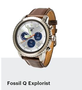 smartwatch getest mode design Fossil Q Explorist