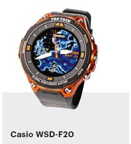 smartwatch getest outdoor Casio WSD-F20