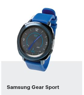 smartwatch getest sport fitness Samsung Gear Sport