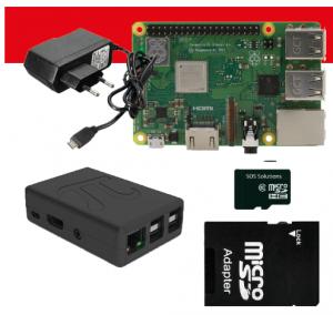Raspberry Pi starterkit aanbieding 3B+ inclusief
