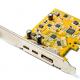 USB-C monitor aansluiten via uitbreidingskaart