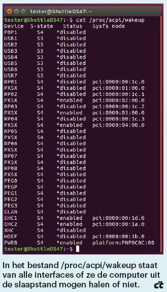 accuduur notebook verbeteren Linux ACPI