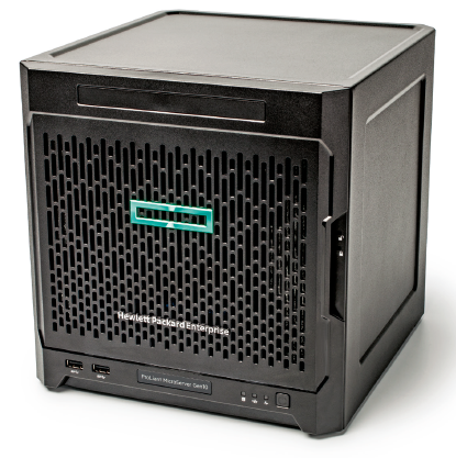 ct-webserver NAS microserver HP ProLiant Gen 10 HPE MicroServer review test