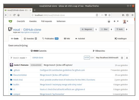 GitHub Microsoft overname alternatief Gitea GitLab NAS project gratis