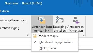 Outlook snel handig werken tips verzonden bericht autocorrectie spelling typen categorie verzenden niet bewaren