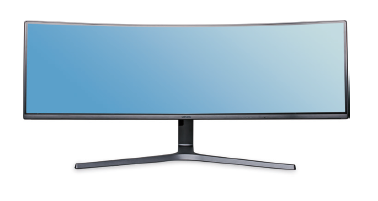 breedbeeldmonitor Samsung C49HG90 review test getest monitor groot grote brede widescreen
