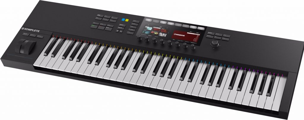 keyboard met display Native Instruments S49 S61 MKII test review getest oled VST Komplete Kontrol