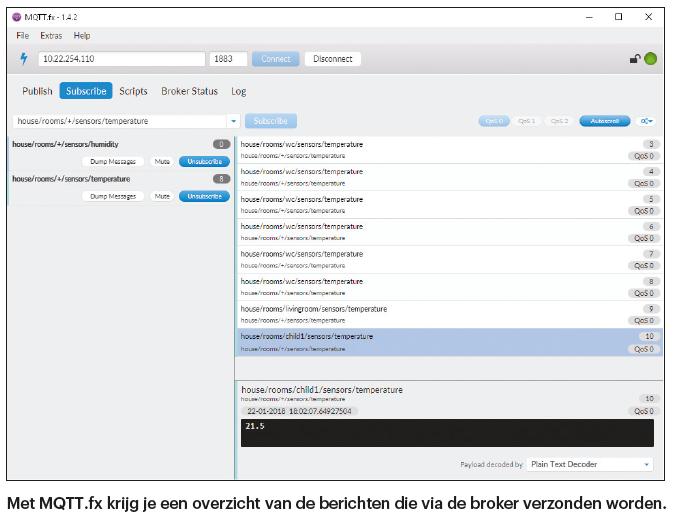 protocol MQTT IoT-protocol MQTT-protocol inleiding uitleg broker communicatie beveiliging OpenHAB thuisnetwerk netwerk MQTT.fx client