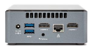 4K-speler Intel NUC NUC7CJYH HDMI 2.0.