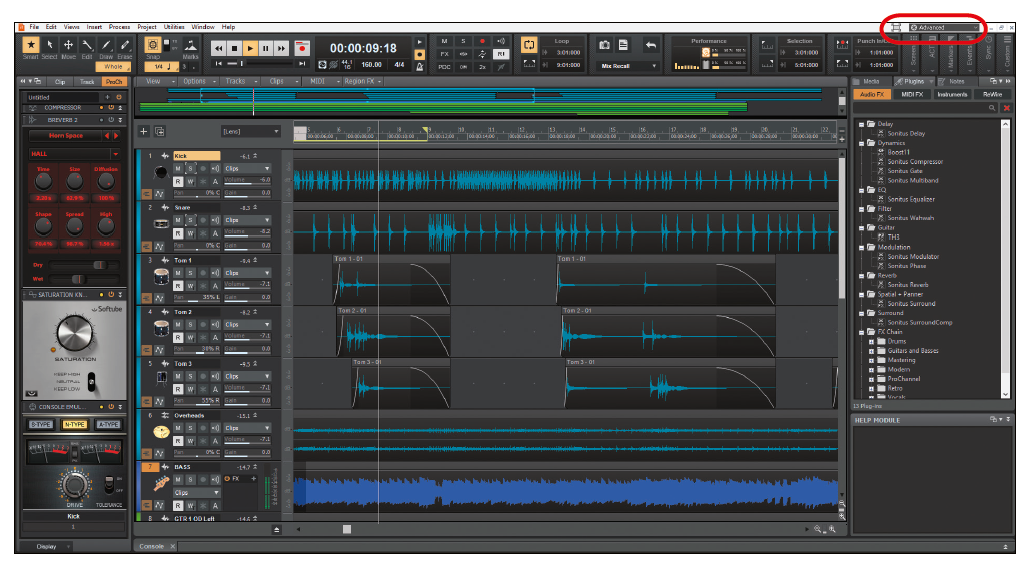 muziek maken mixer mengpaneel software Cakewalk Bandlab DAW VST audio interface