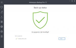 Ashampoo Backup Pro 11