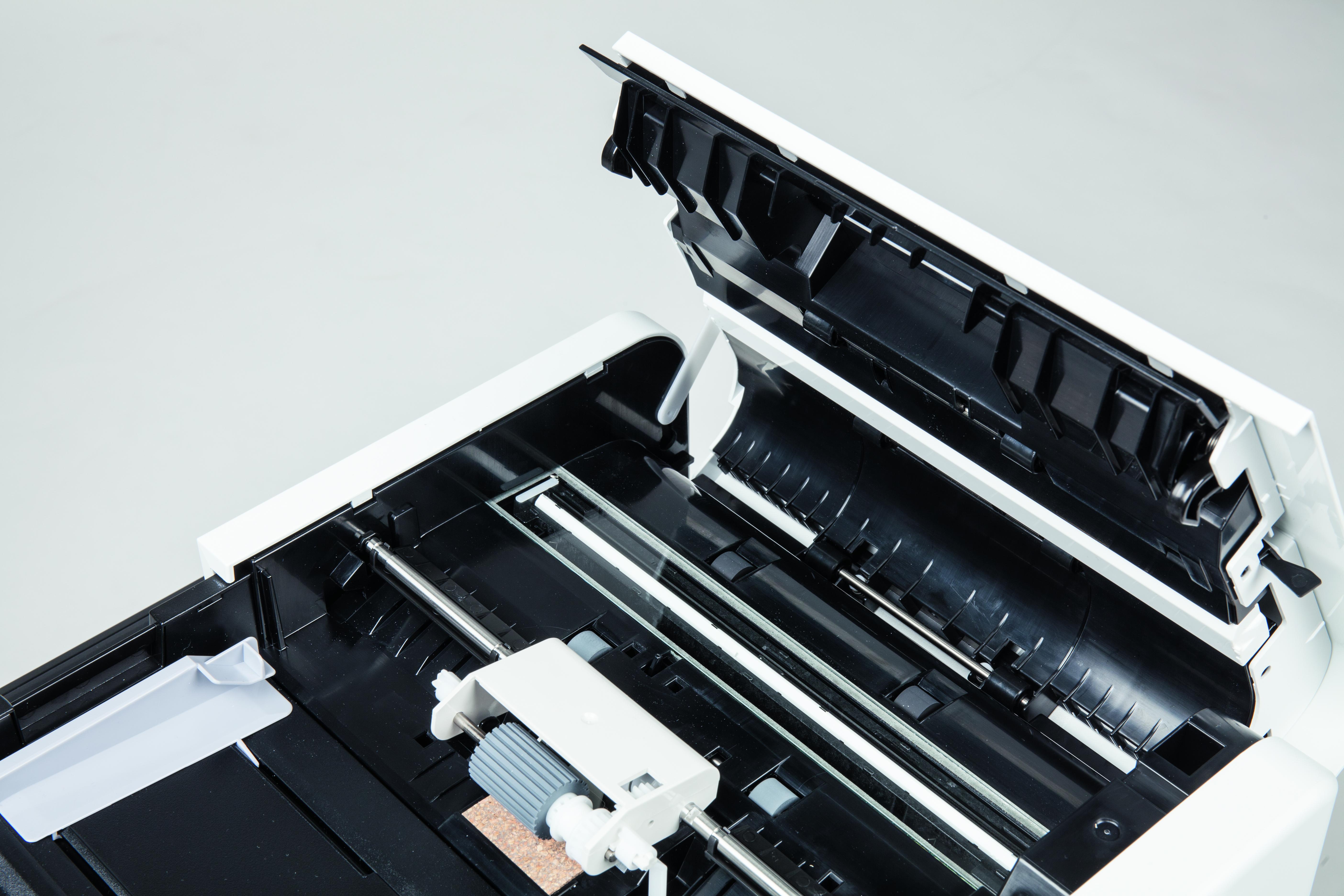 ADF DADF documentinvoer feeder laserprinter dubbelzijdig printkosten multifunctional zzp kantoor scannen kopie