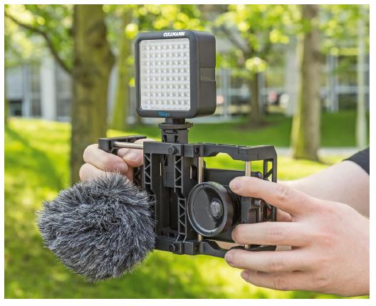 video maken met je smartphone accessoire microfoon houder belichting tips toestel 4K telelens