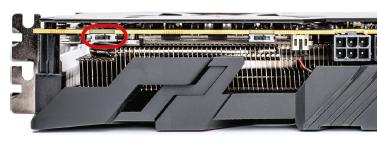 AMD Vega ASUS ROG Strix RX Vega 56 BIOS schakelaar performance quiet silent switch