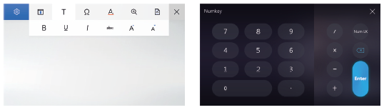 Asus ZenBook Pro UX580GE ScreenPad touchpad scherm