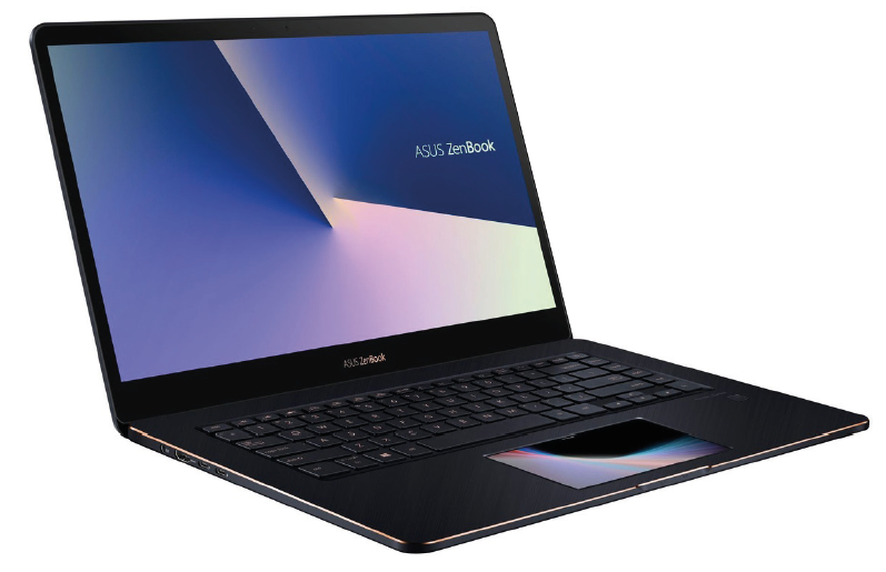 Asus ZenBook Pro UX580GE getest review ScreenPad touchpad scherm