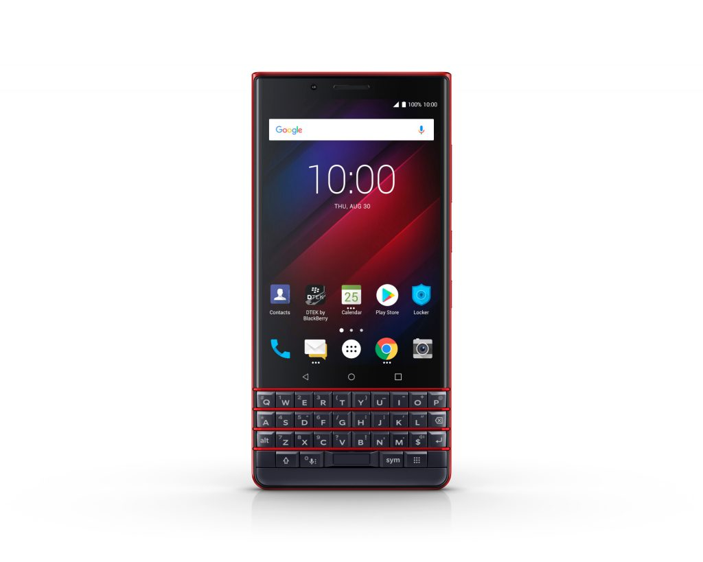 BlackBerry KEY2 LE Atomic vooraanzicht