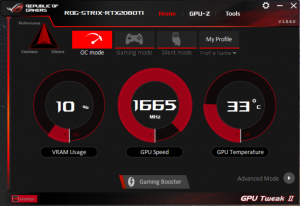 GeForce RTX 2080 Asus GPU Tweak II