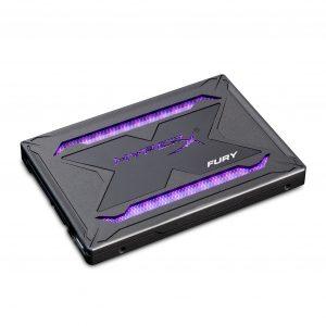 ssd met led-verlichting RGB Kingston Hyper X Fury RGB
