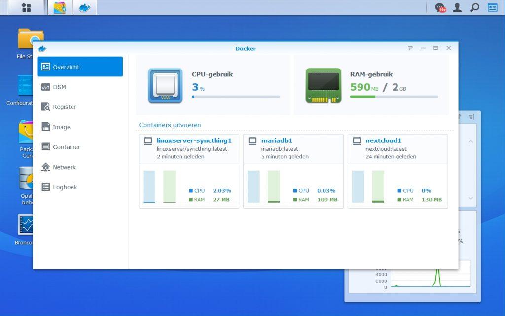 Docker voordelen NAS image fabrikant