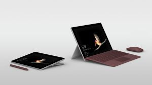 Microsoft Surface Go, Type Cover, Surface Pen