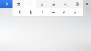 ScreenPad Word voorbeeld