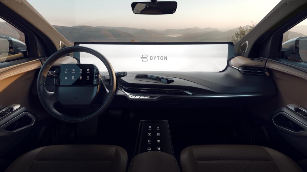 CES Byton M-Byte scherm